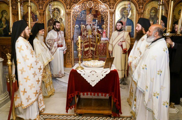 Αρχιερατική Θ. Λειτουργία στην Ι. Μονή Παναγίας Δοβρά (ΦΩΤΟ)