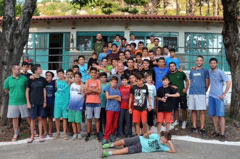 Αθλητική εκδήλωση στην κατασκήνωση της Ι. Μ. Μεσσηνίας (ΦΩΤΟ)