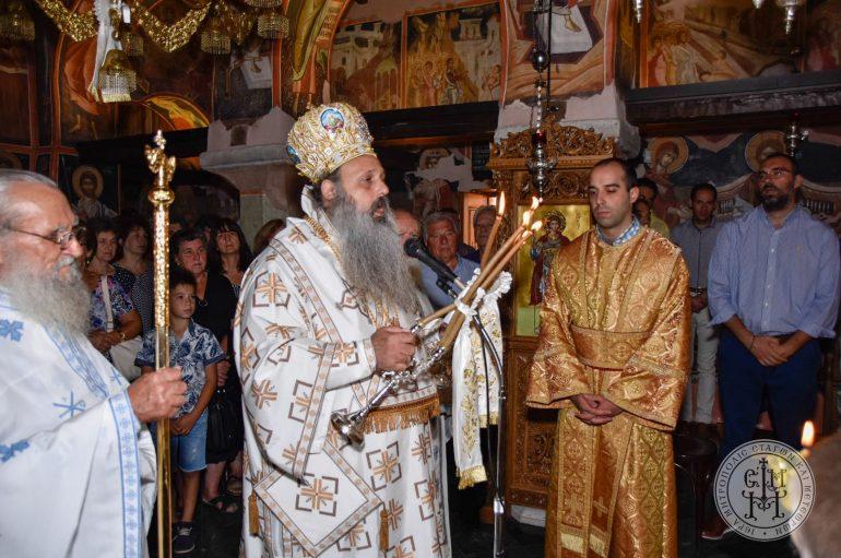 Η εορτή της Κοιμήσεως της Θεοτόκου στην Ιερά Μονή Βυτουμά (ΦΩΤΟ)