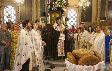 Εσπερινός Κοιμήσεως της Θεοτόκου στην Ι. Μητρόπολη Μεσσηνίας (ΦΩΤΟ)