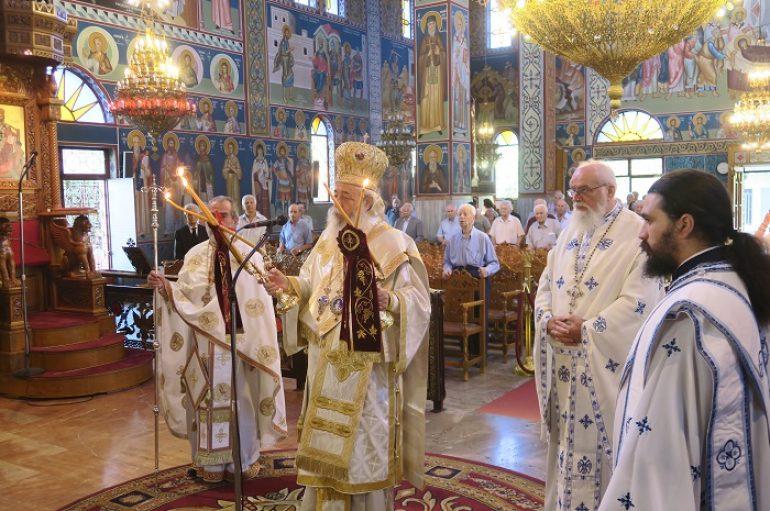 Κυριακή προ της Χριστού Μεταμορφώσεως στην Ι. Μ. Φθιώτιδος (ΦΩΤΟ)