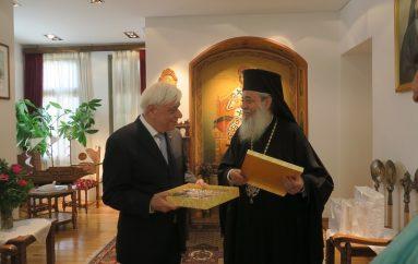 Επίσημη Επίσκεψη του ΠτΔ στον Μητροπολίτη Φθιώτιδος (ΦΩΤΟ)