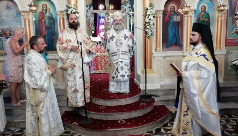 Η εορτή της Κοιμήσεως της Θεοτόκου στην Ι. Μητρόπολη Μάνης (ΦΩΤΟ)