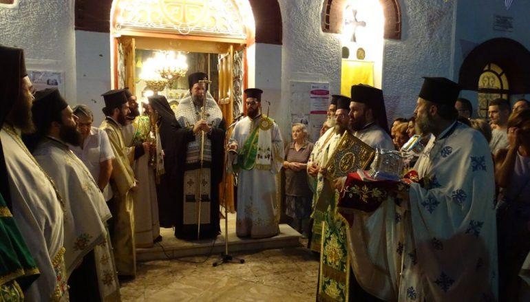 Μεθέορτος Εσπερινός της Αγίας Ευφημίας στη Νέα Χαλκηδόνα (ΦΩΤΟ)