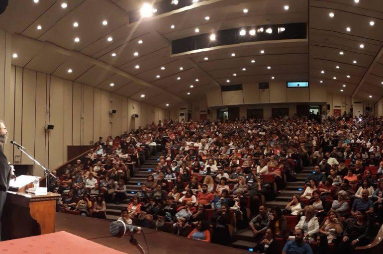 Ομιλία του Αρχιμ. Ανδρέα Κονάνου στη Μυτιλήνη (ΦΩΤΟ)