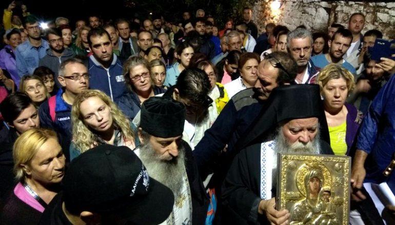 Άφιξη της Παναγίας Βουλκανιώτισσας στο Μοναστήρι της (ΦΩΤΟ)