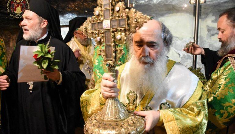 Η εορτή της Υψώσεως του Τιμίου Σταυρού στο Πατριαρχείο Ιεροσολύμων (ΦΩΤΟ)