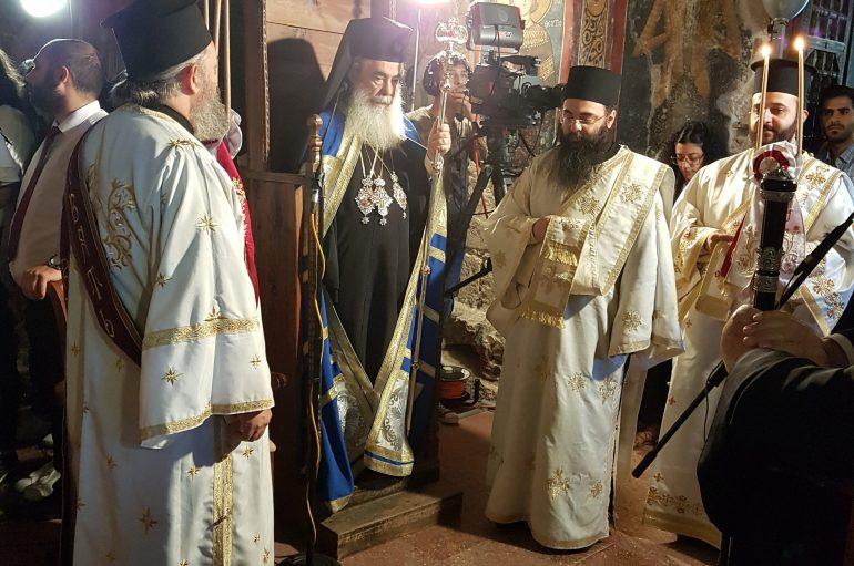 Στην Κύπρο ο Πατριάρχης Ιεροσολύμων Θεόφιλος (ΦΩΤΟ)