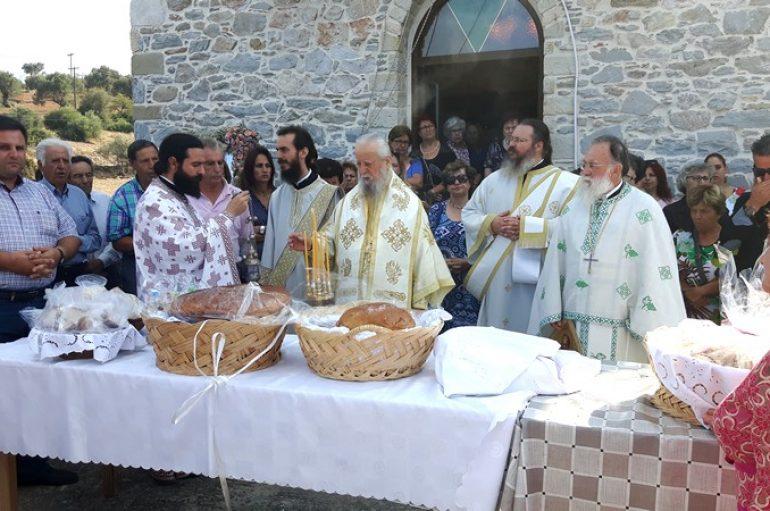 Η εορτή της Αγίας Σοφίας και των τέκνων αυτής στην Ι. Μ. Καρυστίας (ΦΩΤΟ)