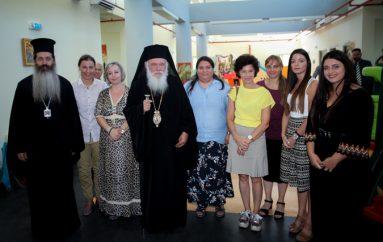 O Αρχιεπίσκοπος στον αγιασμό του Βρεφονηπιακού Σταθμού της Αποστολής
