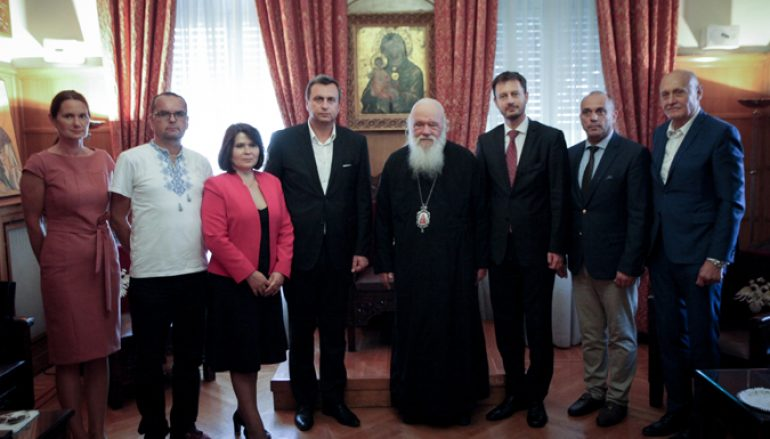 """Αρχιεπίσκοπος: """"Η Ευρώπη χωρίς Χριστιανισμό και αλληλεγγύη δεν πρόκειται να προκόψει"""""""