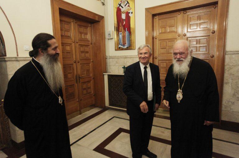 Ο Υφυπουργός Περιβάλλοντος και Ενέργειας στον Αρχιεπίσκοπο (ΦΩΤΟ)