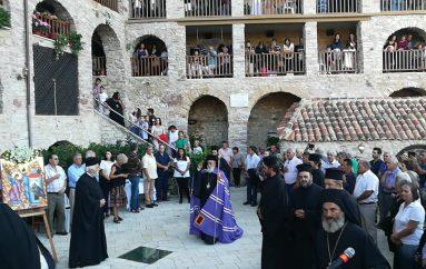 Πανηγυρικός Εσπερινός στήν Ι. Μονή Τιμίου Προδρόμου Καστρίου Κυνουρίας (ΦΩΤΟ)