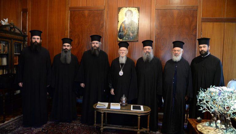 Επίσκεψη του Μητροπολίτη Πατρών στον Οικ. Πατριάρχη (ΦΩΤΟ)