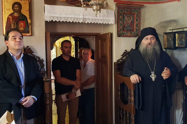 Υποδοχή Διοικητή Αγίου Όρους στην Μονή Εσφιγμένου (ΦΩΤΟ-ΒΙΝΤΕΟ)