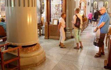 Ρωγμές στον ναό του Αγίου Μηνά στο Ηράκλειο (ΦΩΤΟ)
