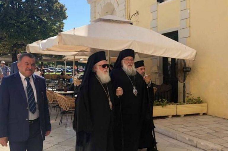 Στην Κέρκυρα ο Αρχιεπίσκοπος Αλβανίας Αναστάσιος (ΦΩΤΟ)