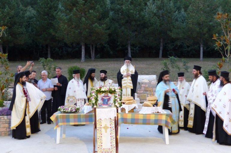 Η εορτή της Τιμίας Ζώνης της Παναγίας στην Ι. Μονή Φανερωμένης Καστορίας (ΦΩΤΟ)