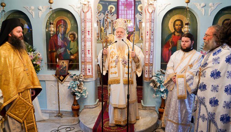 Η εορτή του Αγίου Ιωάννου του Θεολόγου στο Νησέλι (ΦΩΤΟ)