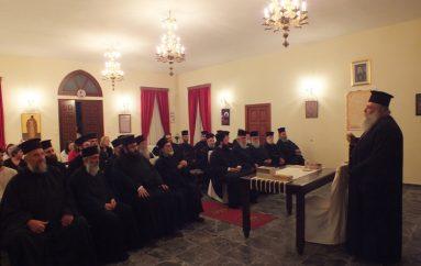 Ιερατική Σύναξη Ιερέων και Κατηχητών στη Νάξο (ΦΩΤΟ)
