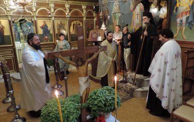 Οι Χαιρετισμοί του Τιμίου Σταυρού στον Ιερό Ναό Φανερωμένης Άρτης (ΦΩΤΟ)