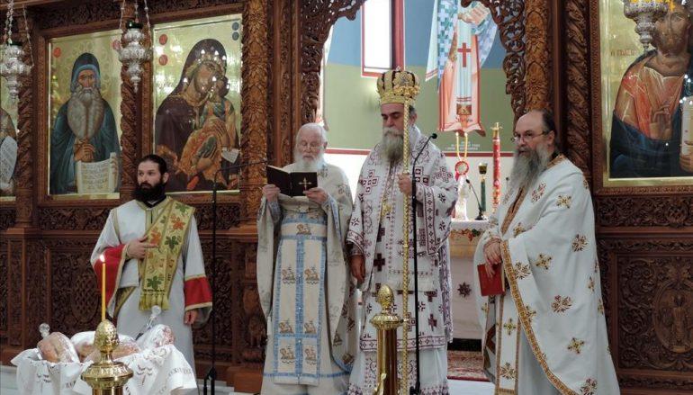 Κυριακή Μετά την Ύψωσιν στην Ενορία Αγίου Μαξίμου του Γραικού Άρτης (ΦΩΤΟ)
