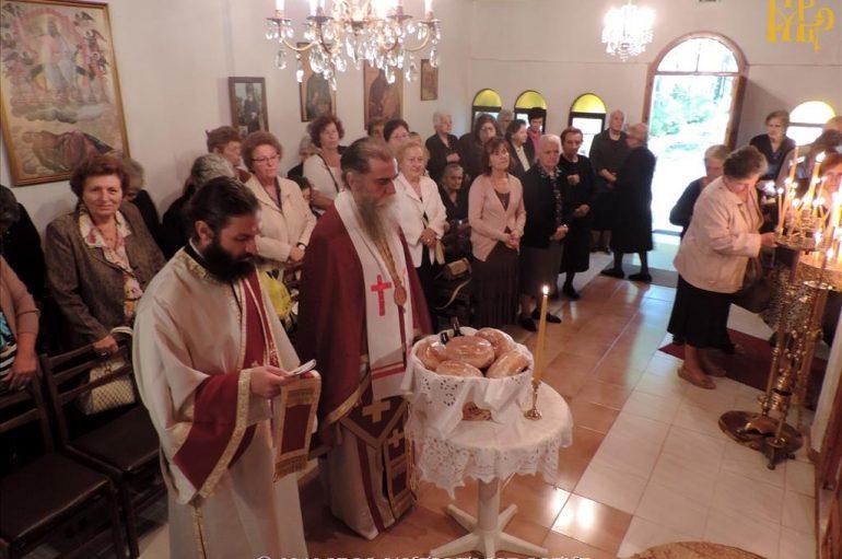 Η εορτή της Αγίας Σοφίας στην Ιερά Μητρόπολη Άρτης (ΦΩΤΟ)