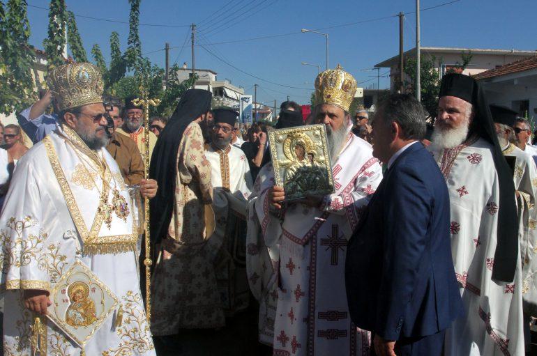 Την Παναγία Βουλκανιώτισσα υποδέχθηκε η Μεσσήνη (ΦΩΤΟ)