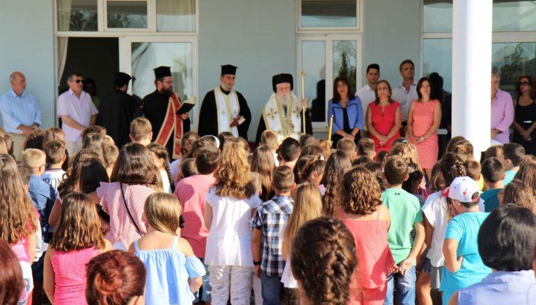 Αγιασμοί για την νέα σχολική χρονιά από τον Μητροπολίτη Παραμυθίας (ΦΩΤΟ)