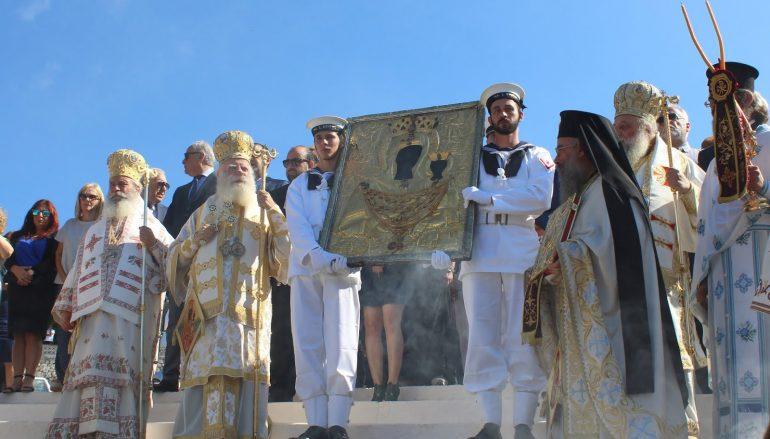 Λαμπρά εορτάσθηκε η Παναγία Μυρτιδιώτισσα στα Κύθηρα (ΦΩΤΟ)