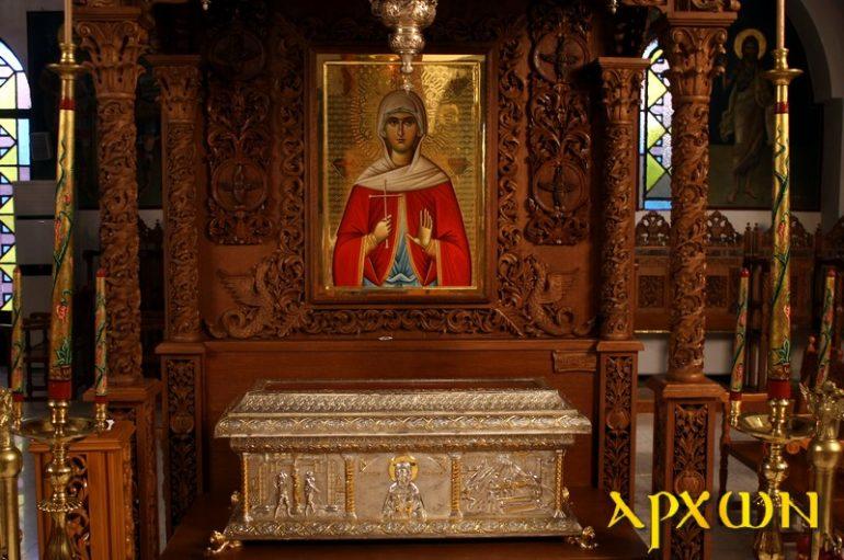 Η Αγία Ακυλίνα η Νεομάρτυς