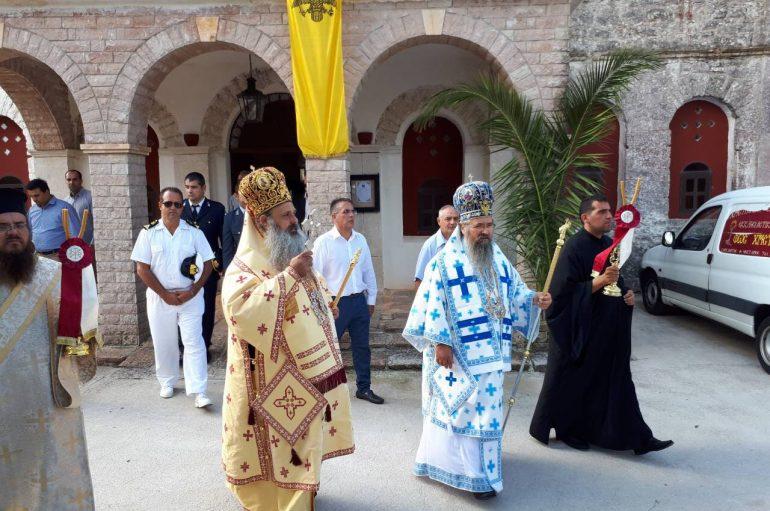 Λαμπρά πανηγύρισε η Ι. Μονή Γενεσίου της Θεοτόκου Καθαρών Ιθάκης (ΦΩΤΟ)