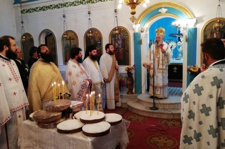 Η εορτή του Αγίου Ιωάννου του Θεολόγου στην Ι. Μητρόπολη Χαλκίδος (ΦΩΤΟ)