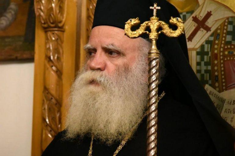 Έκκληση του Μητροπολίτη Κυθήρων για ενότητα του Ορθόδοξου κόσμου