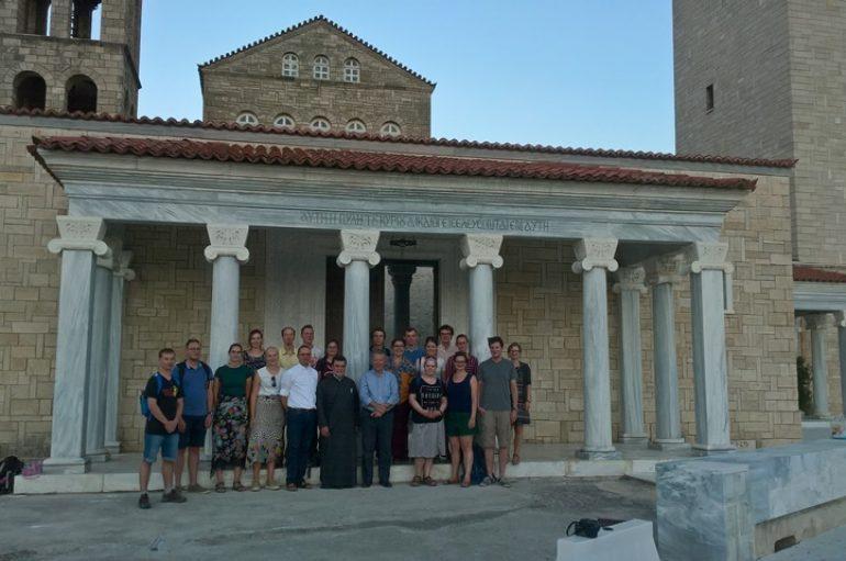 Επίσκεψη Ρωμαιοκαθολικών φοιτητών στην Ι. Μ. Κορίνθου (ΦΩΤΟ)