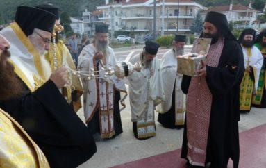Η Τιμία Κάρα του Οσίου Νικάνορος του θαυματουργού στην Καστοριά (ΦΩΤΟ)