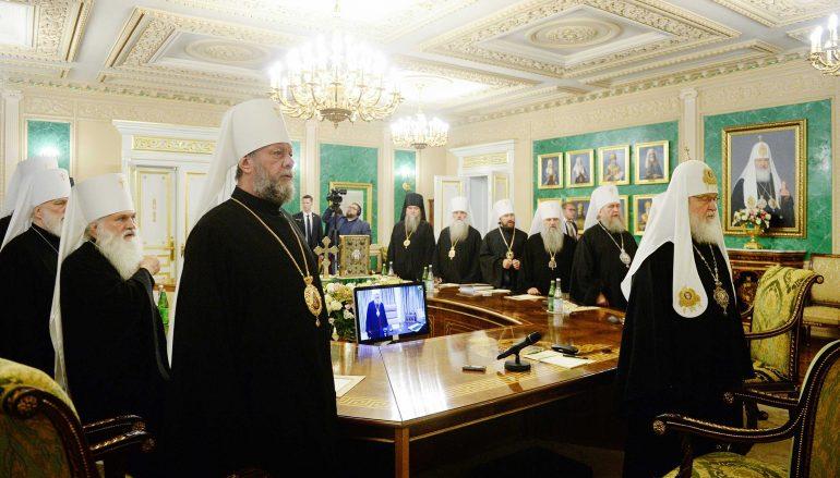 """Μόσχα: """"Οφείλουμε να ακολουθήσουμε την γραμμή του Πατριάρχη Τύχωνα"""""""