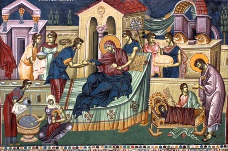 Το γενέθλιο της Παναγίας στον Άθωνα