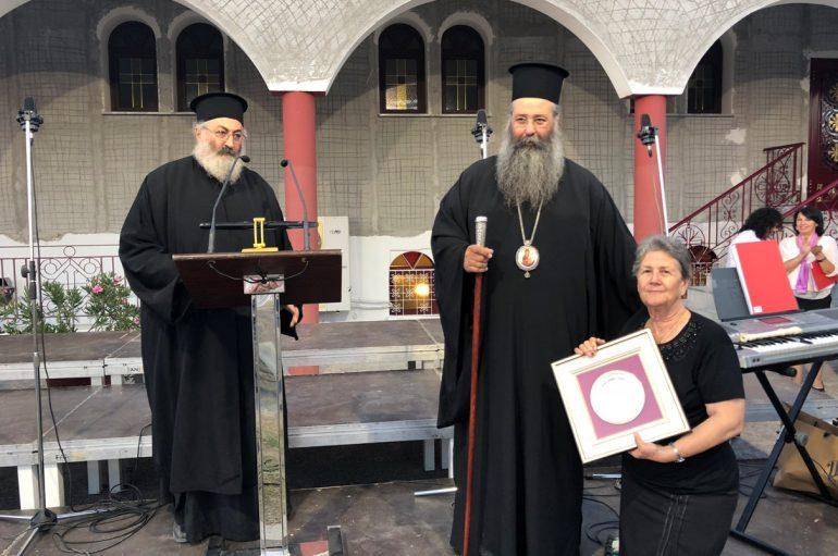 Πλήθος κόσμου στη σύναξη της Ενορίας Αγ. Χριστοφόρου και Ευθυμίου Κατερίνης