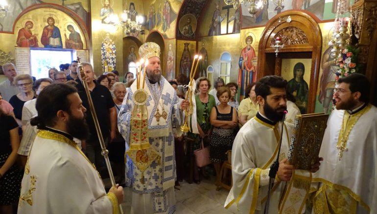 Η εορτή Συνάξεως της Παναγίας «Βηματάρισσας» στη Ν. Ιωνία (ΦΩΤΟ)