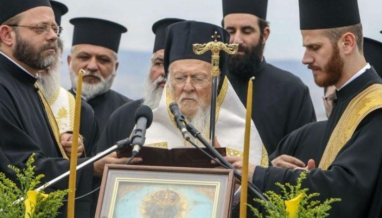 Οικ. Πατριάρχης: «Η Ορθοδοξία εκλαμβάνει τον άνθρωπο ως ιερέα της Κτίσεως»