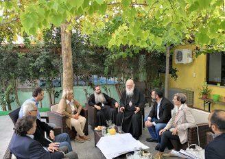 Στον Αρχιεπίσκοπο Ιερώνυμο ο Διευθύνων Σύμβουλος της ΚΤΥΠ ΑΕ