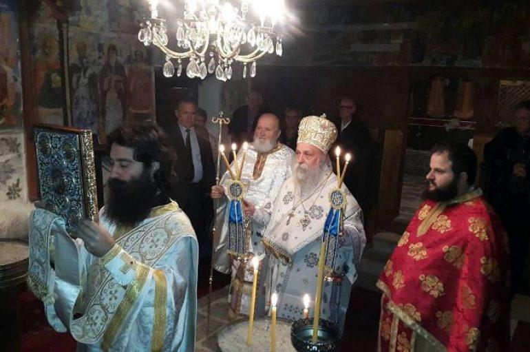 Αρχιερατική Θ. Λειτουργία στο Μπούρινο για τον εορτασμό του Μακεδονικού Αγώνα