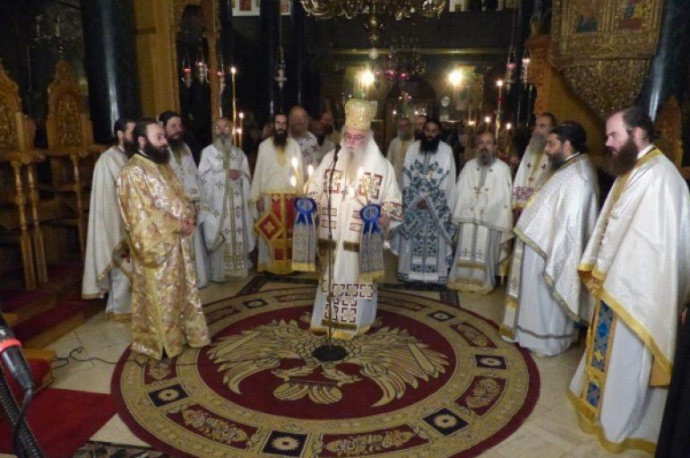 Η Αγρυπνία της Γοργοϋπηκόου τελέσθηκε στην Καστοριά (ΦΩΤΟ)