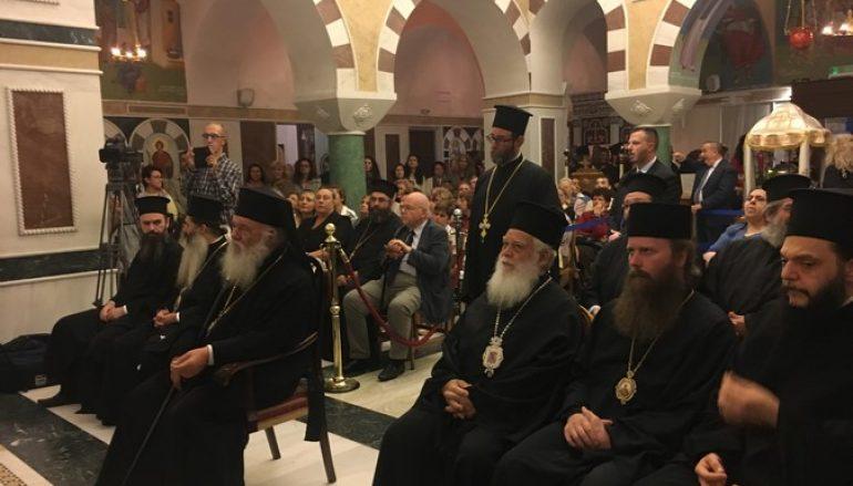 """Αρχιεπίσκοπος Ιερώνυμος: """"Η Εκκλησία δημιουργεί πολιτισμό"""""""