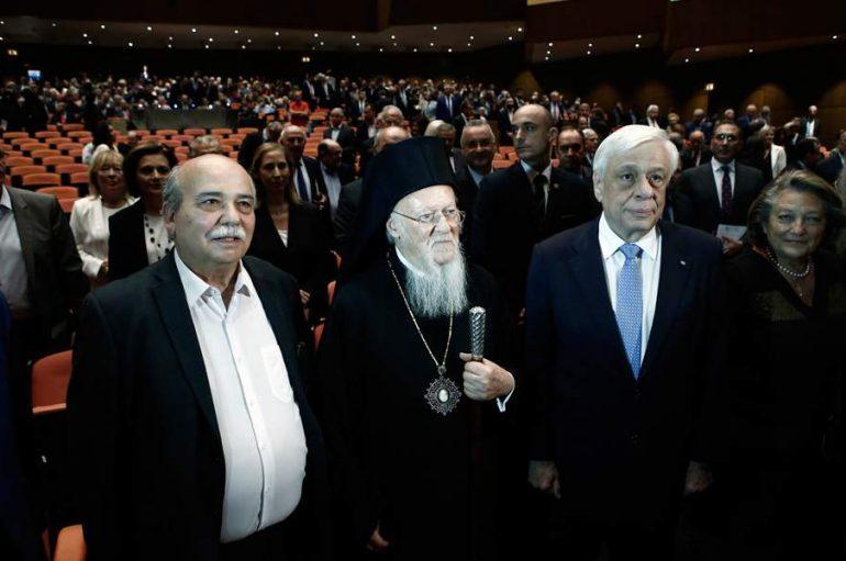 Βράβευση του Οικ. Πατριάρχη από την Βουλή των Ελλήνων (ΦΩΤΟ)