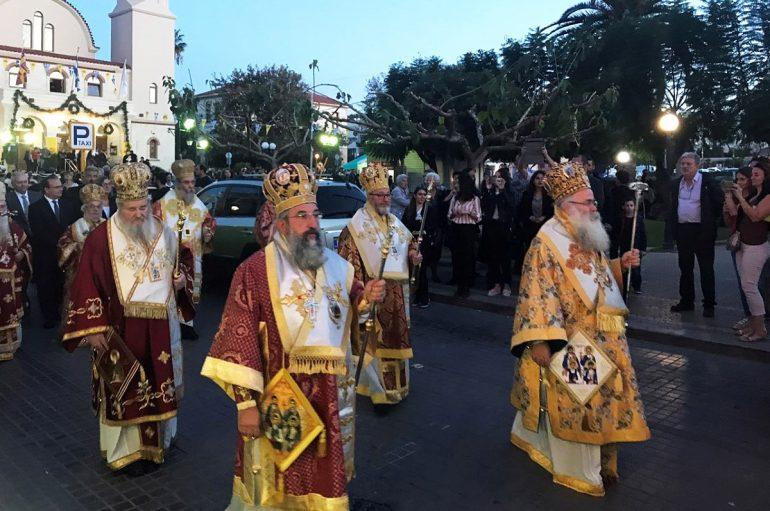 Με λαμπρότητα το Ρέθυμνο εόρτασε τους Πολιούχους του (ΦΩΤΟ)