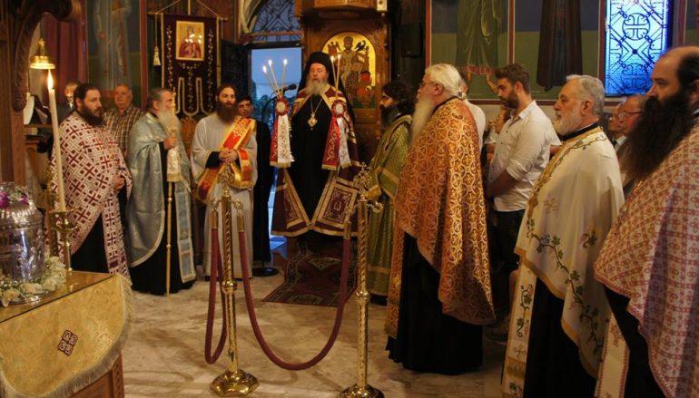 Επέτειος επανακομιδής της Τιμίας Κάρας της Αγίας Ειρήνης στην Πάτρα (ΦΩΤΟ)