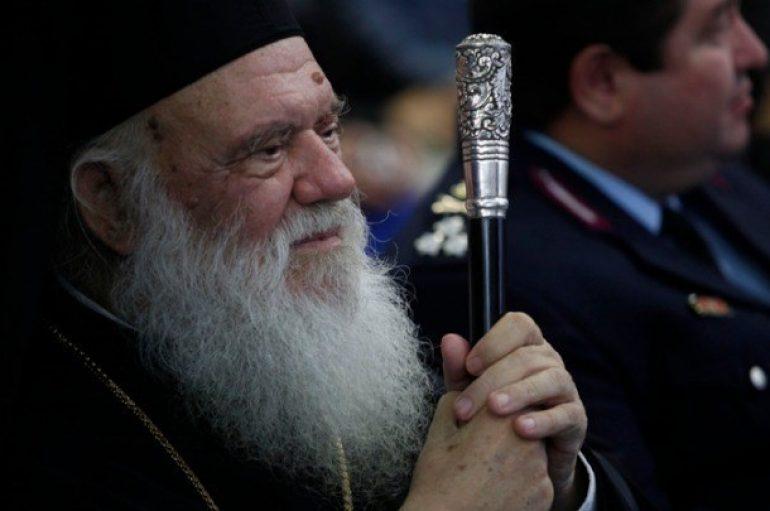 """Αρχιεπίσκοπος: """"Αγαπάμε τον Πατριάρχη αλλά πιο πολύ την Εκκλησία και την πατρίδα"""""""