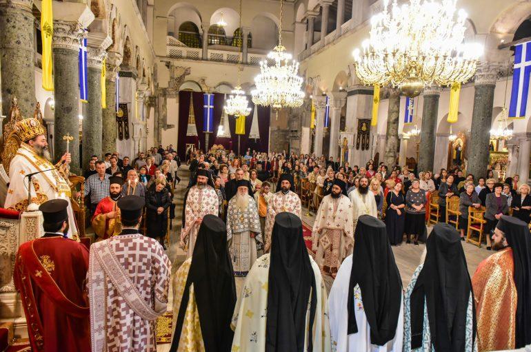 Αρχιερατική Αγρυπνία στον Ιερό Ναό Αγίου Δημητρίου Θεσσαλονίκης (ΦΩΤΟ)